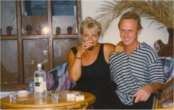 Loes en Peter in hun element zomer 1997